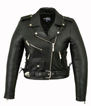 Женская кожаная куртка  L 115