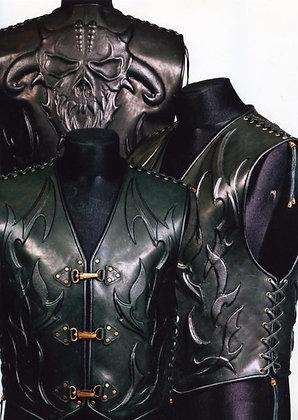 Жилет (кожа) Демон 2