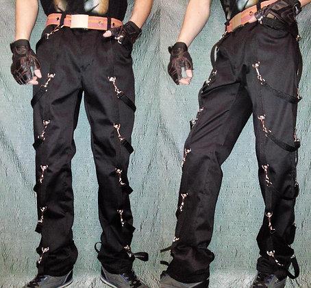 """брюки """"ремни+карабины"""""""