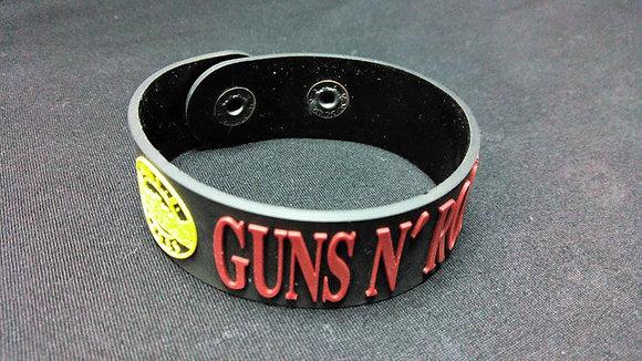 Браслет резиновый Guns n Roses
