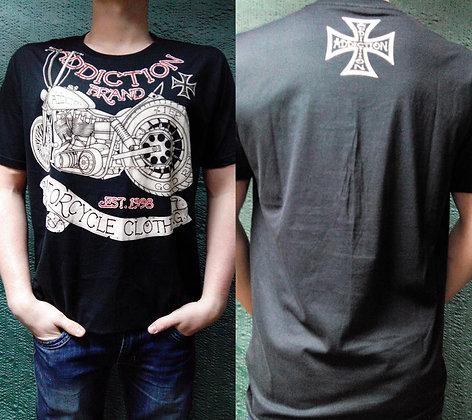 футболка Addiction-size L