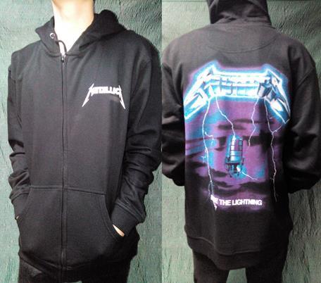 Зиппер Metallica-2
