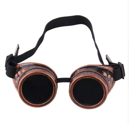 очки 'гогглы' цвет-красная медь