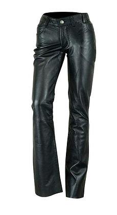 Женские кожаные брюки L 501