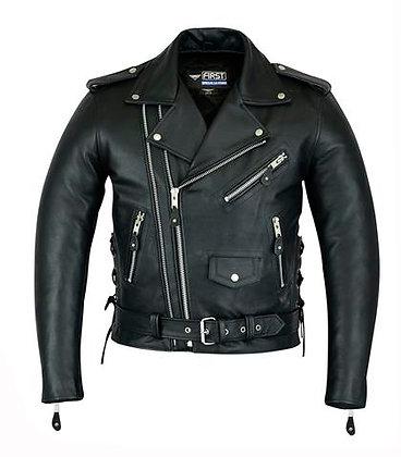 Мужская кожная куртка M 774 DZ