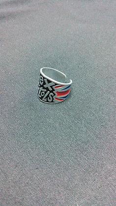 кольцо с символикой