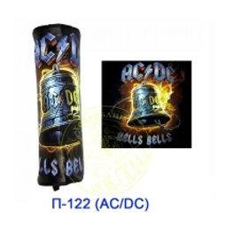 пенал круглый AC/DC