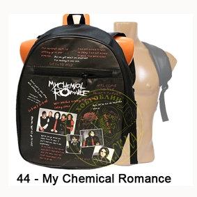 рюкзак = My chemical Romance