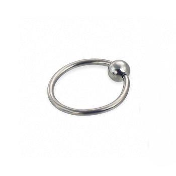 Кольцо с шариком 1.6x10x4 мм