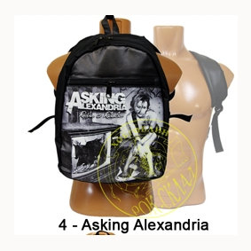 рюкзак = Asking Alexandria