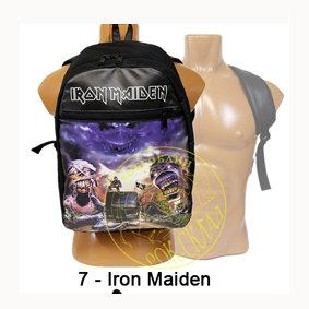 рюкзак = Iron Maiden