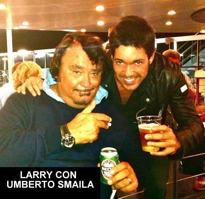 LARRY con UMBERTO SMAILA