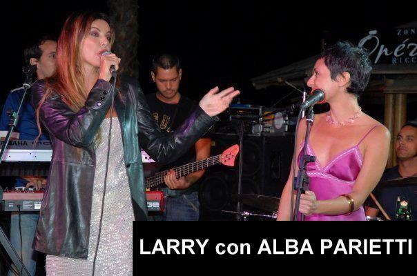 LARRY con ALBA PARIETTI