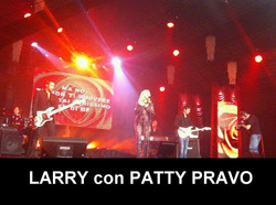 LARRY con PATTY PRAVO