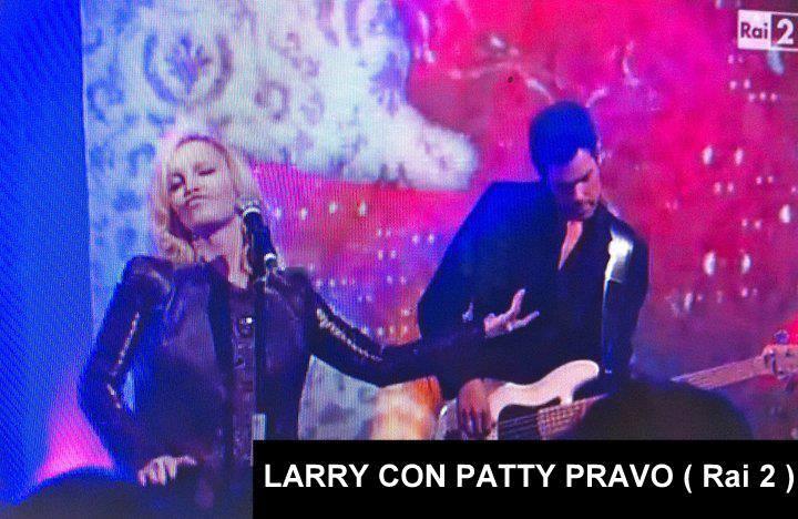 LARRY con PATTY PRAVO