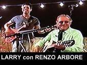 LARRY con RENZO ARBORE