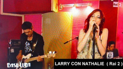 LARRY con NATHALIE