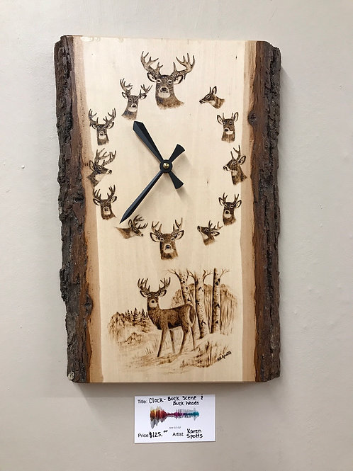 Clock - Bucks and Buck Scene