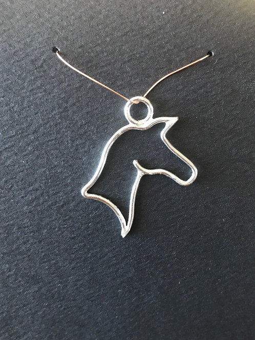 Horse Pendant only