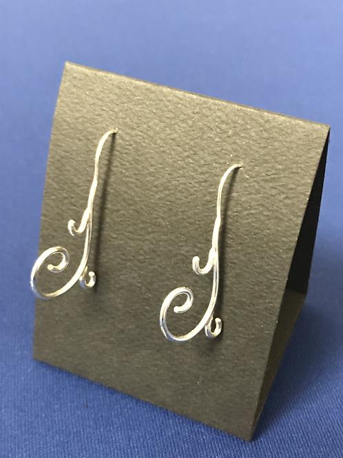 Earrings - Curly-Q