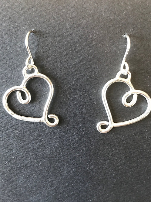 Loopy Hearts Earrings