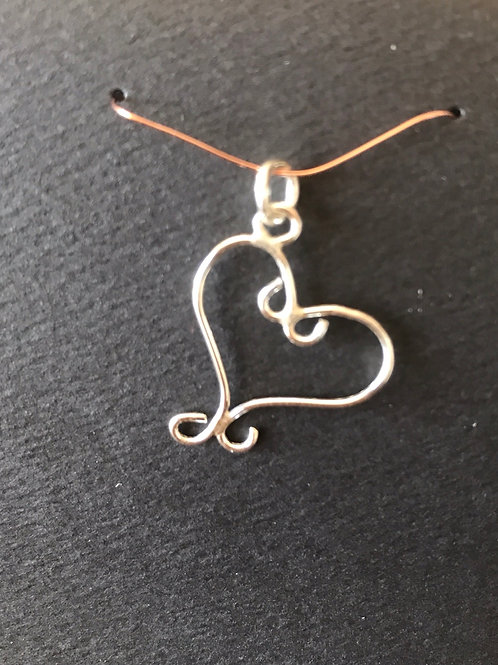 Heart pendant only