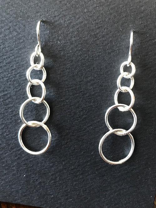 5 Rings Earrings
