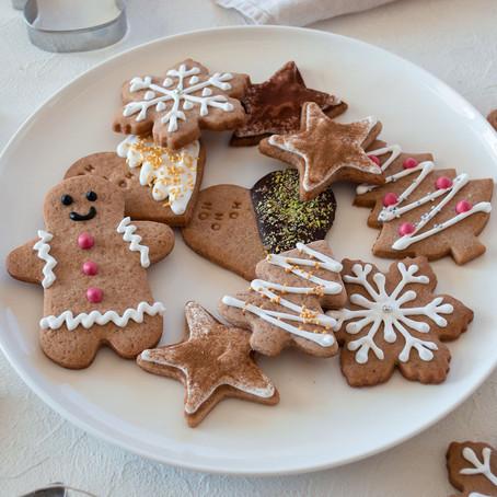 GINGERBREAD - Biscotti di Natale speziati