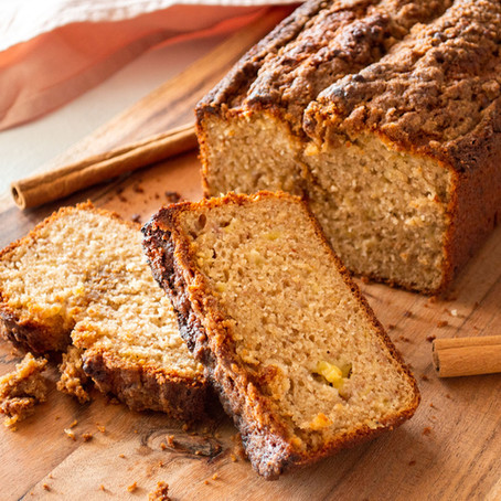 BANANA BREAD CON CRUMBLE ALLA CANNELLA