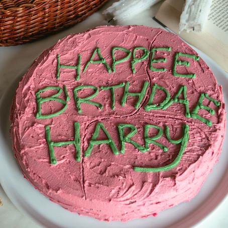 TORTA DI HAGRID (Buon compleanno Harry!)