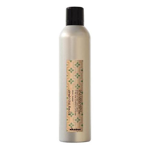 This is a medium hairspray