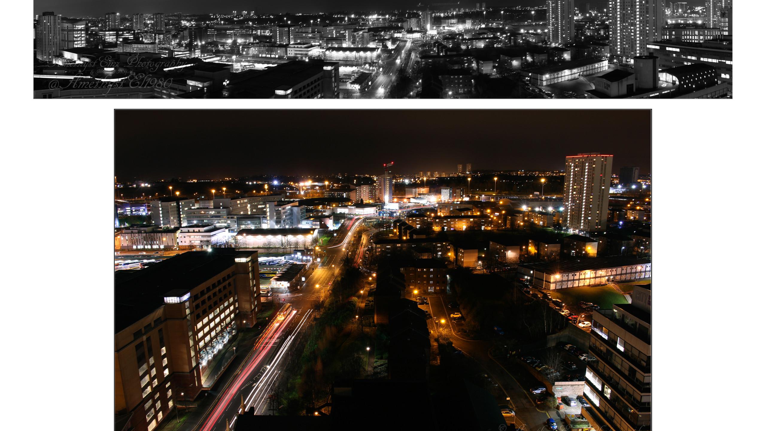 copy right city scape collage
