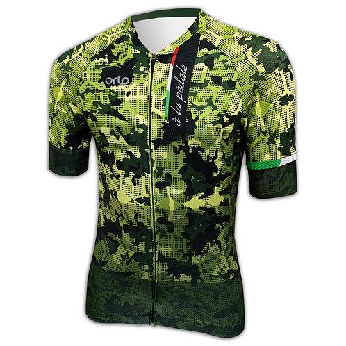 Camisa Camuflada Militar Gran Competizione