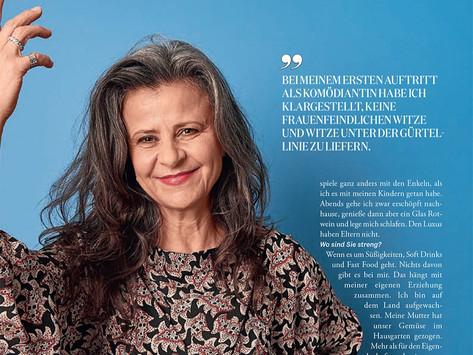 Tracey in Maxima Magazine