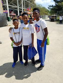Malachi, Jabari, & Aaron