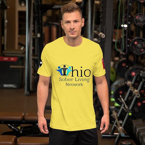 Ohio Sober Living - HOPE Short-Sleeve Unisex T-Shirt