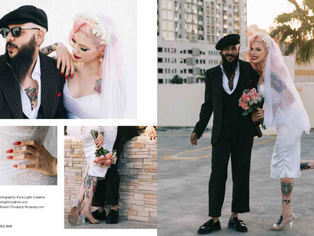 Rock n Roll Bride-The ultimate guide for alternative brides  By Kat Williams
