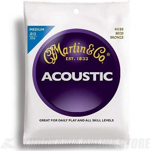 Martin and Co Guitar Strings (Bronze Medium)