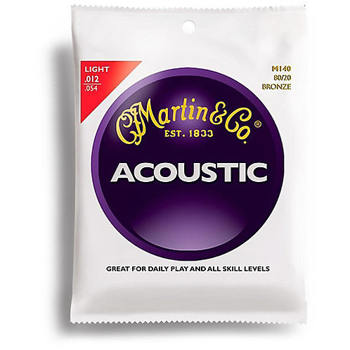 Martin and Co Guitar Strings (Bronze)