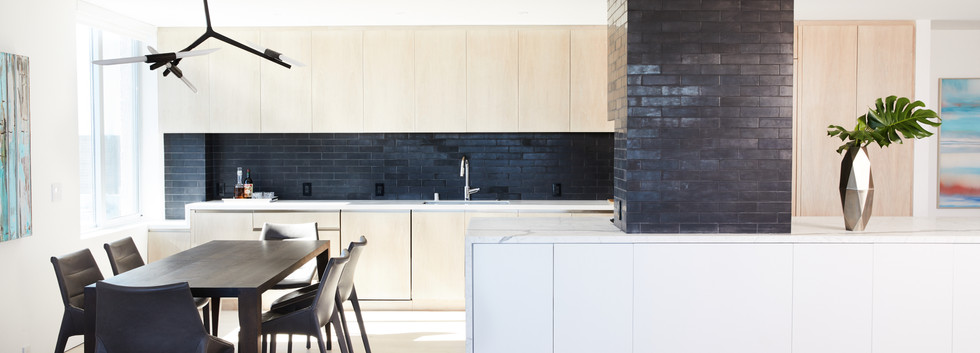 Franklin Residence Dining and Kitchen