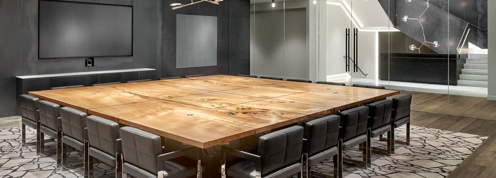 Table: Urban Hardwoods, Custom Design TMDA team