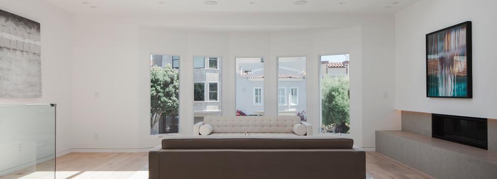 Baker Residence - Living