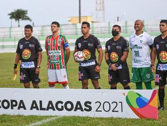Murici e CSE empatam na estreia da Copa Alagoas 2021
