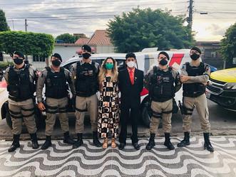 """EMOCIONANTE: militares do 3º BPM realizam """"cotinha"""" para ajudar adolescente na busca por seu sonho"""