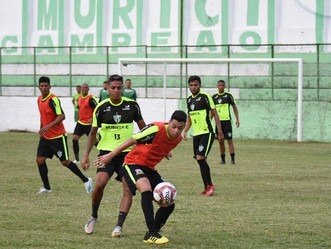 Murici faz seu último treino antes da estreia, contra o CSA, no Campeonato Alagoano 2021