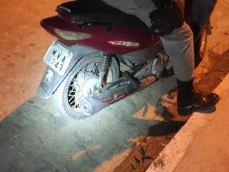 Polícia recupera moto roubada em Arapiraca