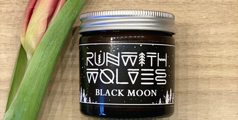 Black Moon Candle