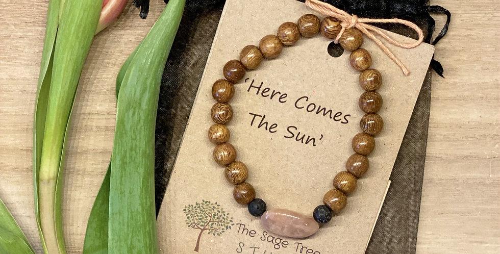 Sunstone Diffuser Bracelet