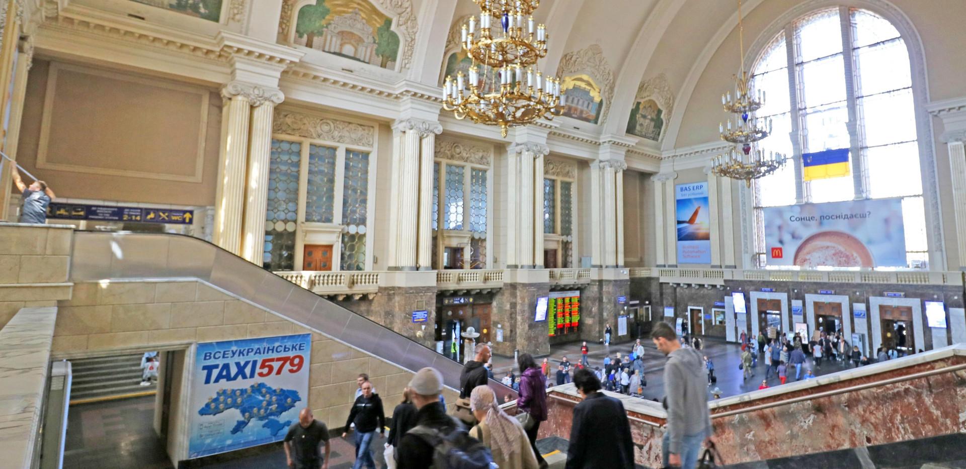 Kyiv-Pasazhyrskyi railway station