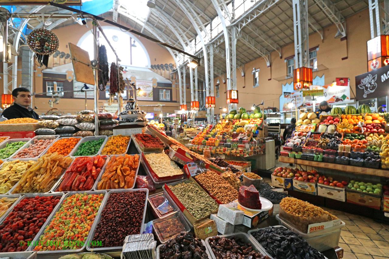 Food market in Kiev